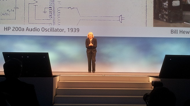Meg Whitman en HP Discover 2013